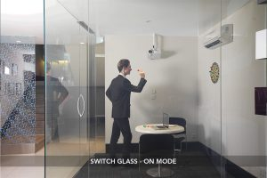 Switch Glass On Mode