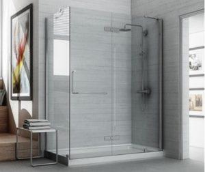 kaca kamar mandi tempered