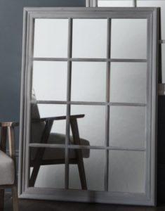 cermin euro grey